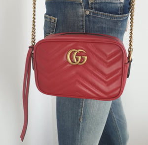 Gucci GG marmont mini matelasse bag
