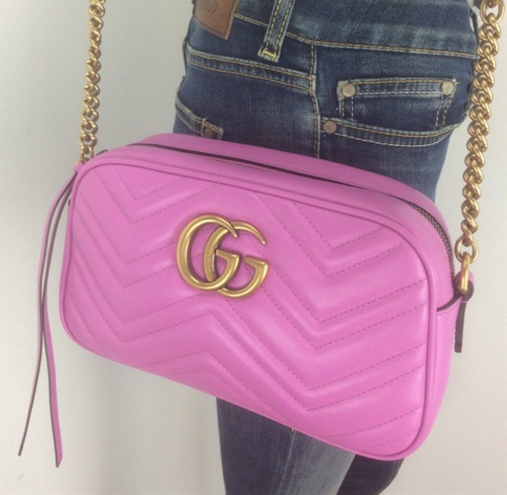 6f7c651217a Gucci GG Marmont small matelassé shoulder bag – Lady Clara s Collection