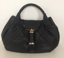 Load image into Gallery viewer, Fendi Spy black calfskin bag
