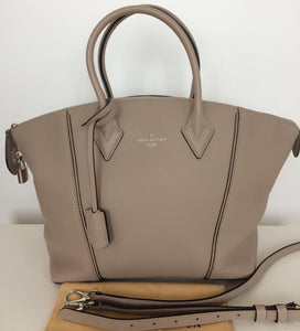 Louis Vuitton new soft Lockit PM shoulderbag