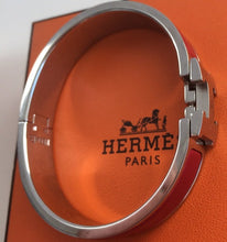 Load image into Gallery viewer, Hermes Clic H rouge