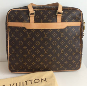 Louis Vuitton monogram soft briefcase