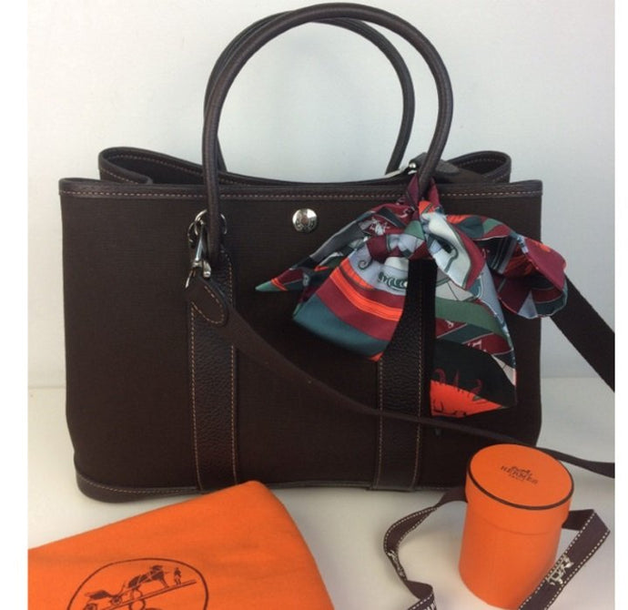 Hermes garden party with strap