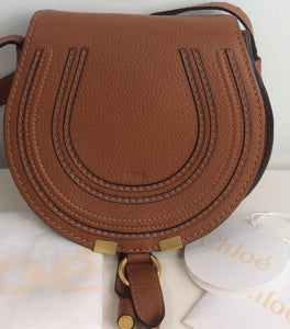 Chloe mini marcie tan
