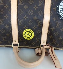 Load image into Gallery viewer, Louis Vuitton World tour keepall bandouliere 50