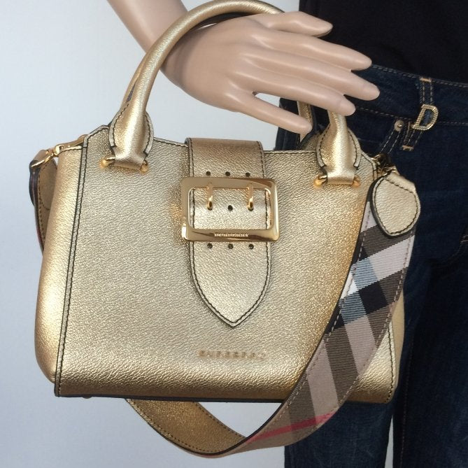 9b3e56db660f Burberry small buckle tote – Lady Clara s Collection