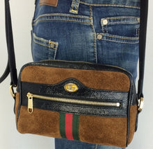 Load image into Gallery viewer, Gucci ophidia mini suede bag