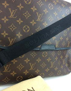 Louis Vuitton bass GM macassar messenger
