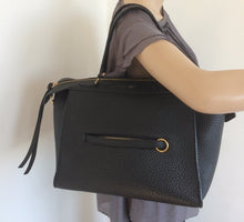 Load image into Gallery viewer, Celine black ring bag