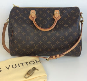 Louis Vuitton speedy 35 bandouliere