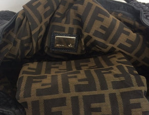 Fendi Spy black calfskin bag