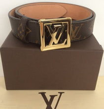 Load image into Gallery viewer, Louis Vuitton monogram frame belt