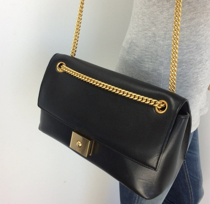 Mulberry cheyne flap chain bag