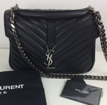 Load image into Gallery viewer, Saint Laurent college medium chain matelasse  bag