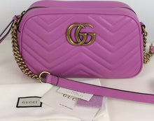 Load image into Gallery viewer, Gucci GG Marmont small matelassé shoulder bag
