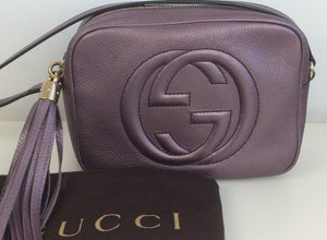 Gucci soho disco metallic bag