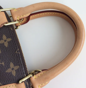 Louis Vuitton alma bb with strap