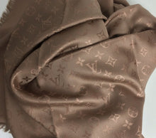 Load image into Gallery viewer, Louis Vuitton monogram shawl in bronze