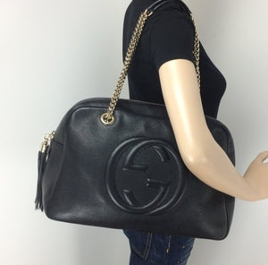 a46432dd739 Gucci large soho chain bag – Lady Clara s Collection