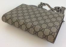 Load image into Gallery viewer, Gucci dionysus GG supreme wallet on chain