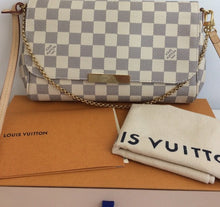 Load image into Gallery viewer, Louis Vuitton favorite MM azur