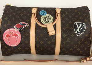 Louis Vuitton World tour keepall bandouliere 50
