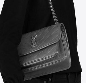 Saint Laurent Niki baby in vintage leather
