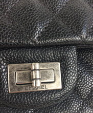 Load image into Gallery viewer, Chanel 2.55 reissue 224 mini double flap in caviar