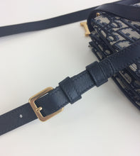 Load image into Gallery viewer, Dior Oblique saddle pochette or cross body bag