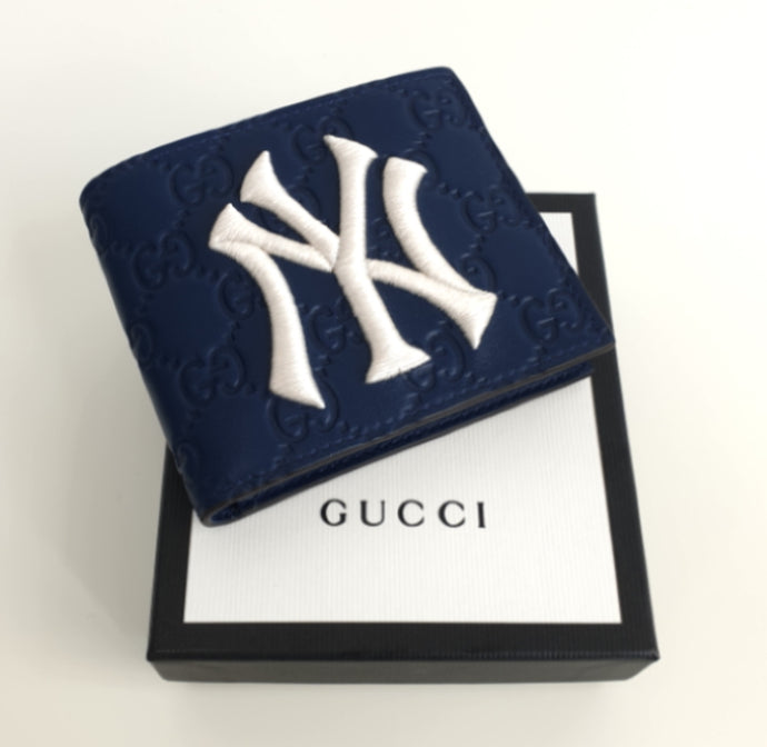 Gucci NY Yankees GG edition wallet