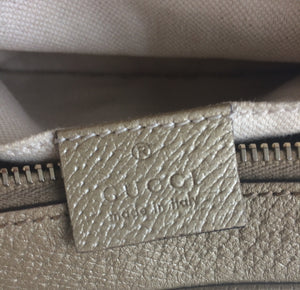 Gucci Bree GG canvas camera bag