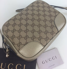 Load image into Gallery viewer, Gucci Bree GG canvas camera bag