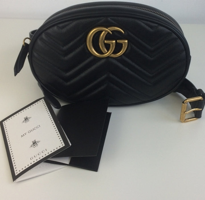 bd5065c9cebb Gucci marmont matelasse belt bag size 95 – Lady Clara's Collection Gucci  GG Marmont Small Matelasse Leather ...