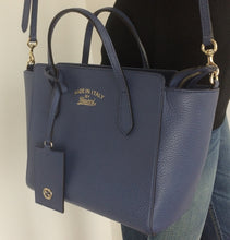 Load image into Gallery viewer, Gucci swing tote crossbody bag