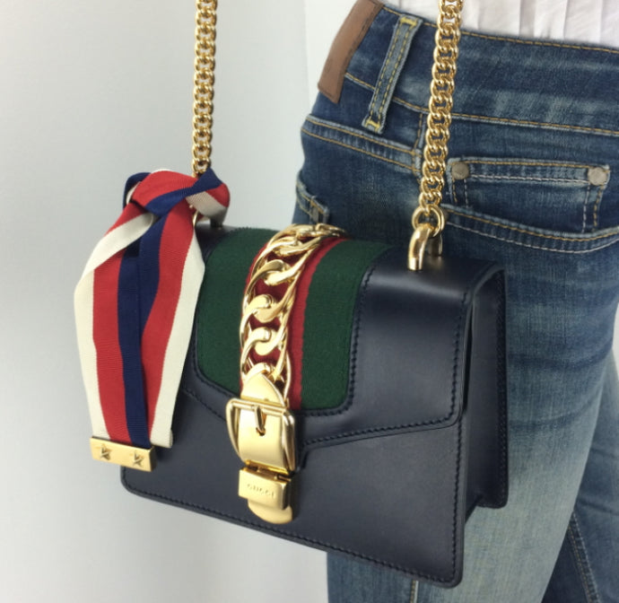 Gucci Sylvie mini chain bag