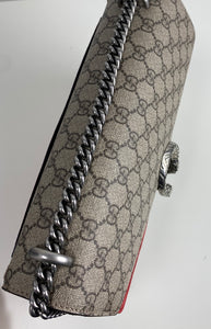 Gucci dionysus supreme GG medium shoulder bag