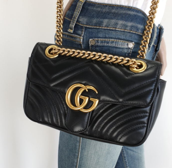 Gucci GG mini marmont matelasse bag