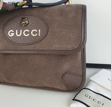 Load image into Gallery viewer, Gucci neo suede vintage web small messenger unisex