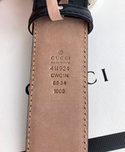 Load image into Gallery viewer, Gucci GG signature interlocking belt size 85