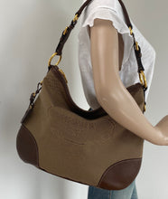 Load image into Gallery viewer, Prada jacquard canvas hobo bag