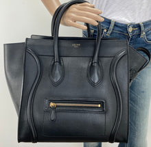 Load image into Gallery viewer, Céline mini luggage in black