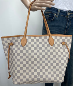 Louis Vuitton neverfull MM azur