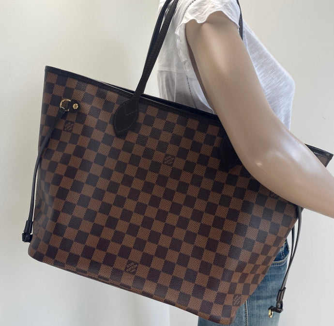Louis Vuitton neverfull MM damier
