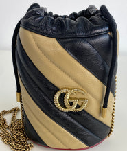 Load image into Gallery viewer, Gucci marmont mini bucket bag