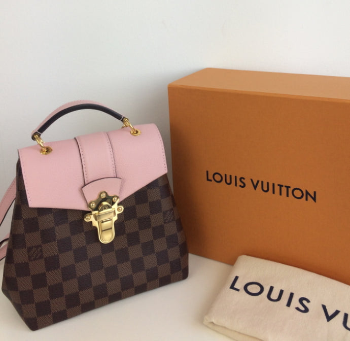 Louis Vuitton clapton backpack/ shoulderbag