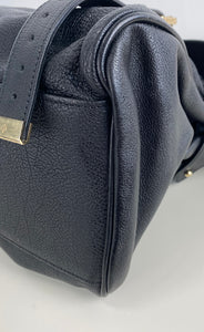Mulberry black alexa satchel