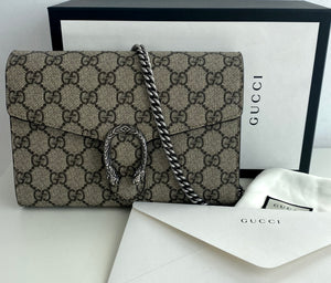 Gucci dionysus supreme chain wallet