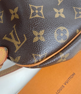 Louis Vuitton saumur 30 monogram messenger bag