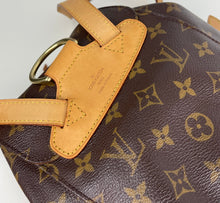Load image into Gallery viewer, Louis Vuitton monogram Montsouris MM backpack