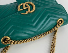 Load image into Gallery viewer, Gucci marmont small matelasse shoulder bag